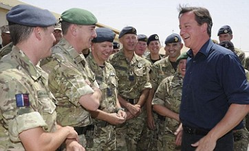 David Cameron to pull 500 British troops from Afghanistan