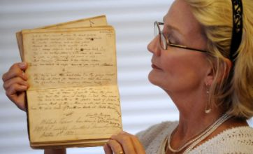 Lord Byron memorial book unearthed at church sale in US