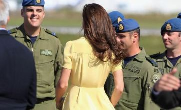 Kate Middleton's Marylin Monroe moment: Caption competition