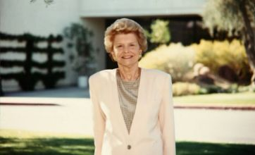 Former US First Lady Betty Ford dies aged 93