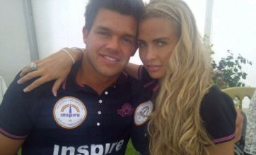 Katie Price and Leandro Penna stay away from Peter Andre's polo event