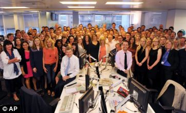 News Of The World final edition to go out with a bang, editor tells staff