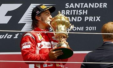 No glory for Jenson Button and Lewis Hamilton as Ferrari clinch British GP