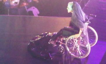 Lady Gaga egged in Sydney – after bizarre 'wheelchair mermaid' appearance