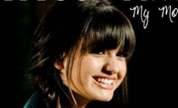 Rebecca Black is all smiles on the cover of My Moment