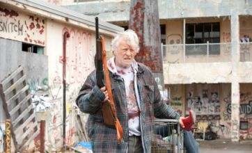Hobo With A Shotgun is a tongue-in-cheek, crazed action thriller