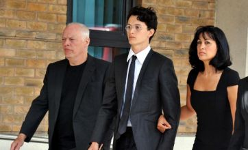 Pink Floyd guitarist David Gilmour's son Charlie jailed for rampage