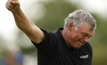 Darren Clarke wins first major at The Open and dedicates victory to sons