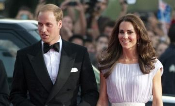 Kate Middleton and Prince William head to cinema to watch Bridesmaids
