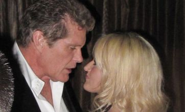 David Hasselhoff's birthday marred by 'heated' row with Hayley Roberts