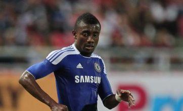 Saloman Kalou aka David 'Cameroon' hi-jacks a Chelsea TV camera