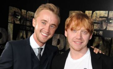 Rupert Grint declares his love for Tom Felton – on his T-shirt