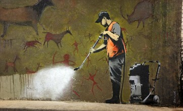 New iPhone app reveals locations of Banksy's art in London