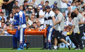 Kieron Dyer X-ray reveals no broken foot as QPR expect return in 'a few days'