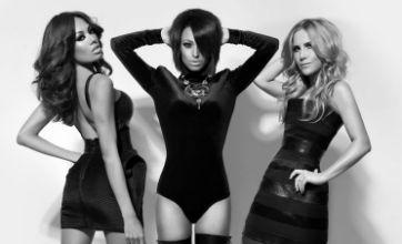 Sugababes slap on sexy stilettos as they unveil sleek new comeback look