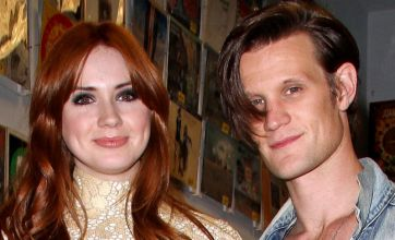 Matt Smith: Karen Gillan's sex appeal makes dads watch Doctor Who