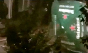 London riots: Footage of failed umbrella attack is YouTube hit