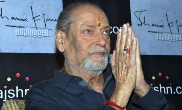 Bollywood mourns Shammi Kapoor, 'the Elvis Presley of India'