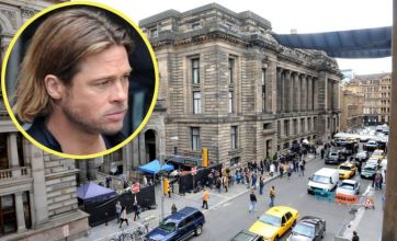 Brad Pitt starts shooting World War Z as Glasgow becomes Philadelphia
