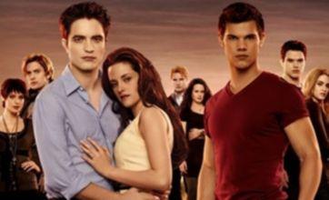 Newlyweds Robert Pattinson and Kristen Stewart in new Breaking Dawn poster