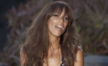 Leona Lewis strips down to a bikini in video for new single Collide