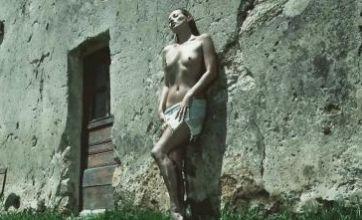 Kate Moss poses topless for Pirelli calendar before summer wedding