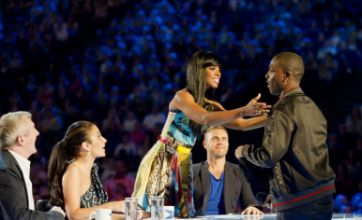 Kelly Rowland sets X Factor hopeful Derry Mensah's heart racing