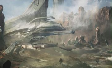 Halo 4 is first in Reclaimer Trilogy, as concept art revealed