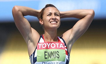 Jessica Ennis looks to London 2012 after title defence thrown off course