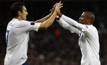 Ashley Young's strike gives England victory against Wales in Euro qualifier