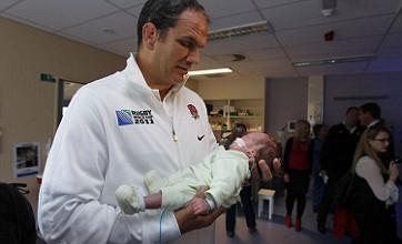 Martin Johnson leads England tribute to Christchurch earthquake zone