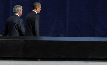 9/11 anniversary: Thousands join presidents for Ground Zero tributes