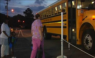 School bus stop finally relocated away from strip club car park