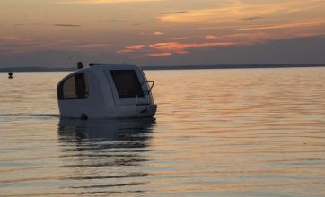 Caravan that transforms into a boat set to solve many holiday dilemmas