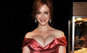 Christina Hendricks' revealing dress overshadows Sarah Jessica Parker: Dare to Wear
