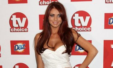 Amy Childs sparkles at TV Choice awards as Kirk Norcross rumours grow