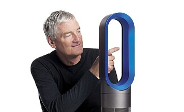 Dyson inventor unveils jet engine-inspired heater that cannot burn you