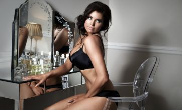 TOWIE's Jessica Wright celebrates turning 26 by posing in her underwear