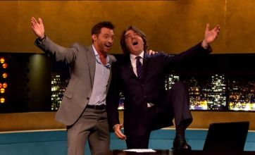 Peter Kay and Hugh Jackman made for a lively Jonathan Ross Show