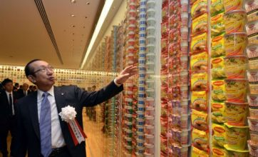 Instant noodles museum opens in Japan to celebrate 40-year success