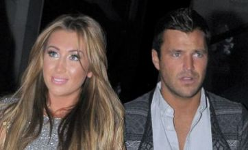 Mark Wright and Lauren Goodger cosy up at VIP party rubbishing split claims
