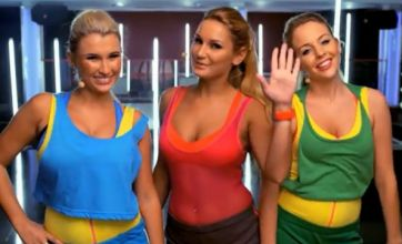 TOWIE stars Lydia, Sam and Billie unveil Essexercise workout video