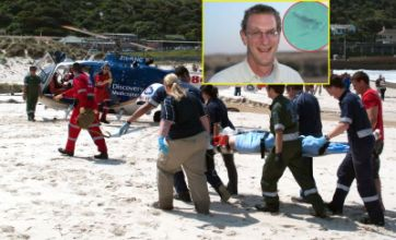 Shark bite Briton Michael Cohen fights for life after Great White attack