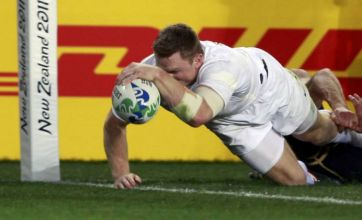 England relief as late Chris Ashton try sinks Scotland at Rugby World Cup 2011