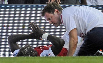 Arsenal's Bacary Sagna ruled out until January with bone fracture
