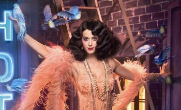 Katy Perry transformed into 1920s sexy siren for ghd shoot