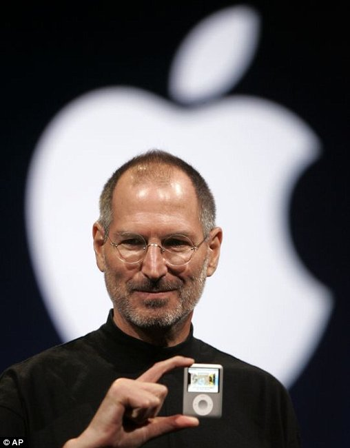 Sept. 5, 2007, file photo, Apple CEO Steve Jobs introduces the Apple Nano in San Francisco. Apple on Wednesday, Oct. 5, 2011 said Jobs has died. He was 56.