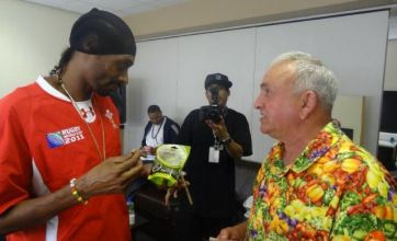 Snoop Dogg meets the giant veg massif