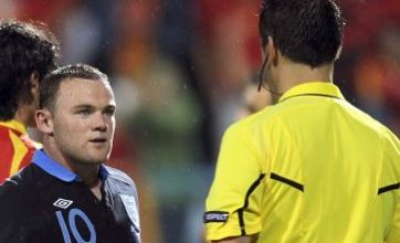 England blow as Wayne Rooney set for three-game ban after red card