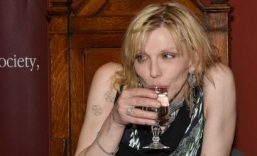 Courtney Love 'ordered to pay £70,000 to replace missing earrings'